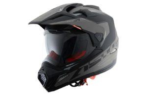 Шлем ASTON Cross Tourer Adventure, матовый / черный