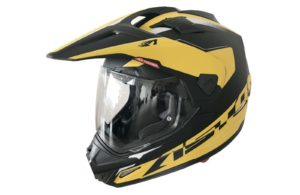 Шлем ASTON Cross Tourer Adventure, желтый / черный