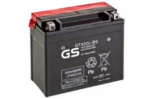 Аккумулятор 12В/18.9Ач (GTX20L-BS)