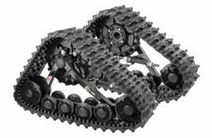 Гусеничный комплект задний для ATV всесезонный S.PRO (черный)